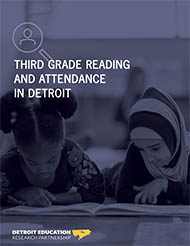 Third Grade Reading and Attendance in Detroit Image